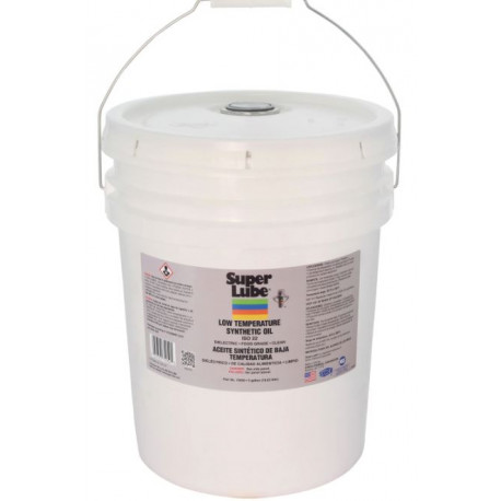 Super Lube 74050 Low Temperature Synthetic Oil 5 Gallon Pail