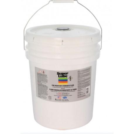 Super Lube 86050 Fire Resistant Non-Flammable Hydraulic Oil 5 Gallon Pail