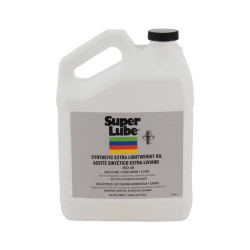 Super Lube 53040 Synco Synthetic Extra Lightweight Oil (Pkg of 4)