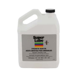 Super Lube 54301 Synco Synthetic Gear Oil ISO 320 (Pkg of 4)