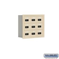 "Salsbury 1903506 Cell Phone Lockers Three Door High 5"" Deep Compartments"