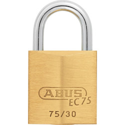 Abus 75/30 Weather Resistant Solid Brass Marine Padlock