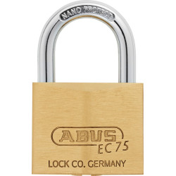 Abus 75/40 Weather Resistant Solid Brass Marine Padlock