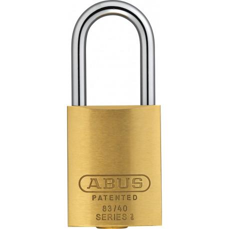 Abus 83/40 Brass Rekeyable Padlock