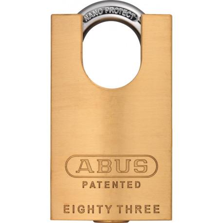Abus 83CS/45 Brass Rekeyable Padlock