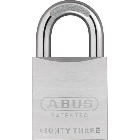 Abus 83/50 Chrome Plated Brass Rekeyable Padlock
