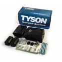 TYSON High Security HLSH-SC Single-Hinge Model HaspLock