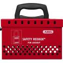 Abus B835RED Standard Redbox w/ 12 Padlock Eyelets, Saftey Device