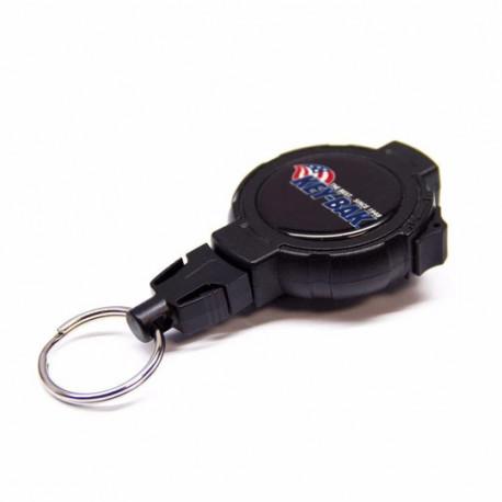 Key-Bak 0KB2-6A11 LOCK48 Locking Retractable Key Chain