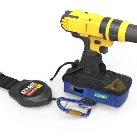 Key-Bak 0KB6-9BA03 5 lb. Drill Shoe Tool Attachment and Retractable Tool Lanyard Combo