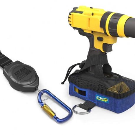 Key-Bak 0KB6-9AA03 3 lb. Drill Shoe and Retractable Tool Lanyard Combo