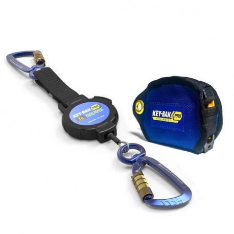 Key-Bak 0KB6-8FA03 1.5 lb Tape Measure Jacket Tool Attachment and Retractable Tool Lanyard Combo