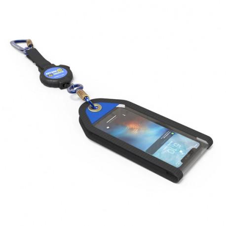 Key-Bak 0KB6-AFAS3 1 lb Smartphone Jacket Tool Attachment and Retractable Tool Lanyard Combo