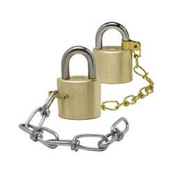 "Wilson Bohannan C004 9"" Steel Shackle Chain"