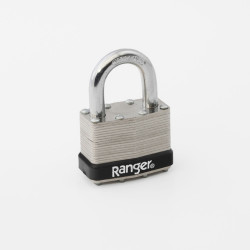 "Ranger Lock TL00-5L 1"" Laminated Steeladlock, Keyed Different Only"