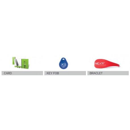 Digilock CKB Card + Key Fob + Bracelet (RFID Credentials)
