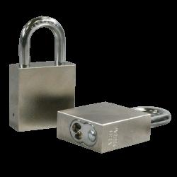 """Paclock 100 Hardened Steel Rekeyable Padlock w/ 5/16"""" Shackle Diameter, Shackle Material - Hardened Steel"""