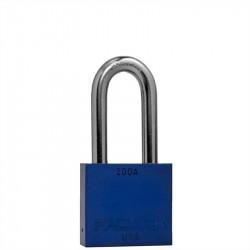 "Paclock 200A Aluminum Rekeyable Padlock w/ 3/8"" Shackle Diameter, Shackle Material - Hardened Steel"