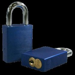 Paclock 100A-IC Aluminum 5, 6, & 7-Pin SFIC Compatible Padlock w/ 5/16? Shackle Diameter,