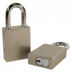 Paclock 100-IC Hardened Steel 5, 6, & 7-Pin SFIC Compatible Padlock w/ 5/16? Shackle Diameter,