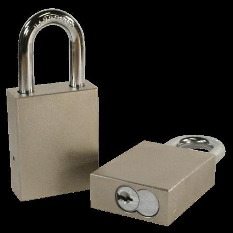 Paclock 100-IC Hardened Steel 5, 6, & 7-Pin SFIC Compatible Padlock w/ 5/16? Shackle Diameter,