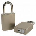 "Paclock 100-IC Hardened Steel 5, 6, & 7-Pin SFIC Compatible Padlock w/ 5/16"" Shackle Diameter, Shackle Material - Hardened Steel, Shackle Spread Inside - 25/32"""