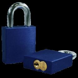 Paclock 200A-IC Aluminum 5, 6, & 7-Pin SFIC Compatible Padlock w/ 3/8? Shackle Diameter,