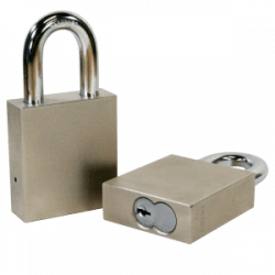 Paclock 200-IC Hardened Steel 5, 6, & 7-Pin SFIC Compatible Padlock w/ 3/8? Shackle Diameter,