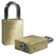 Paclock LFIC-Y6 Brass 6-Pin Padlock, Compatible w/ Yale and Medeco