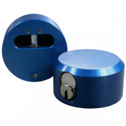 "Paclock LFIC-M 6-Pin Padlock w/ 13/32"" Shackle Diameter, Compatible w/ 6-Pin Medeco"