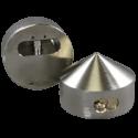 "Paclock LFIC-M32-2177 Hardened Steel 6-Pin Padlock w/ 13/32"" Shackle Diameter, Shackle Material - Steel, Compatible w/ 6-Pin Medeco"