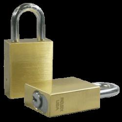 Paclock LFIC-COR Brass 6-Pin Padlock, Compatible w/ 6-Pin Corbin Russwin