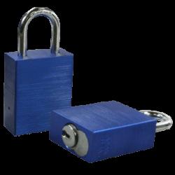 Paclock LFIC-COR Aluminum 6-Pin Padlock, Compatible w/ 6-Pin Corbin Russwin
