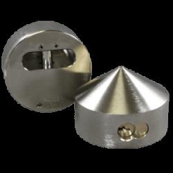 "Paclock KiK-2177 Hardened Steel Padlock  w/ 13/32"" Shackle Diameter,"