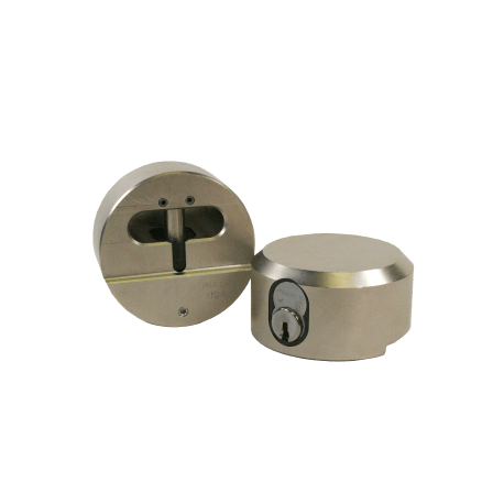 "Paclock FSIC Padlock w/ 13/32"" Shackle Diameter, Compatible w/ 6-Pin Corbin Schlage"