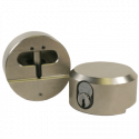 "Paclock FSIC Padlock w/ 13/32"" Shackle Diameter, Shackle Material - Steel, Compatible w/ 6-Pin Corbin Schlage"