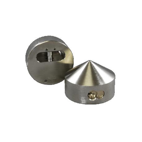 """Paclock FSIC-2177 Hardened Steel Padlock  w/ 13/32"""" Shackle Diameter, Compatible w/ 6-Pin Corbin Schlage"""