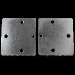 Paclock PL770 Steel Shrouded Hockey-Puck Hasp w/ Hidden Security Holes