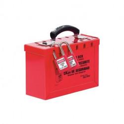 Master Lock 498A, 232-901 OSHA Portable Group Lock Box