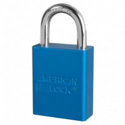 "A1105, 050-428 American Lock Safety Lockout Padlock 1-1/2""(38mm) Rekeyable Rectangular Padlock, Keyed Alike"