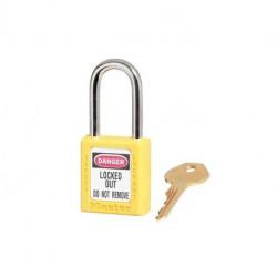 Master Lock 410, 331-057 Zenex OSHA Safety Lockout Padlock