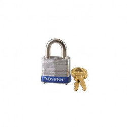 "Master Lock 7, 331-573, 7KA Laminated Steel Padlock 1-1/8"" (29mm)"