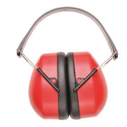 Portwest PW42RER ClipOn Ear Muffs EN352, Color- Red