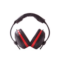 Portwest PW43BKR Comfort Ear Muffs EN352, Color-Black