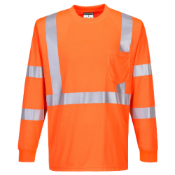 Portwest S192 Hi-Vis Long Sleeved T-Shirt