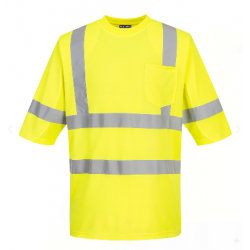 Portwest S397 Class 3 Mesh Panel T-Shirt