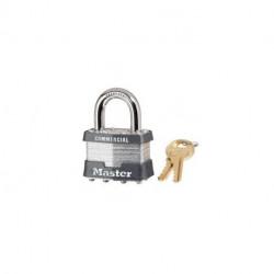 "Master Lock 1KA, 320-519, 1-3/4"" Wide Laminated Steel Padlock"