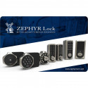 Zephyr CTL-CARD2 Management Card for RFID Locks, Supervisory Access Only