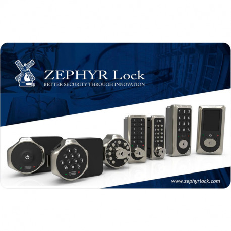 Zephyr CTL-CARD Control for RFID Locks, Supervisory Access and Code Reset