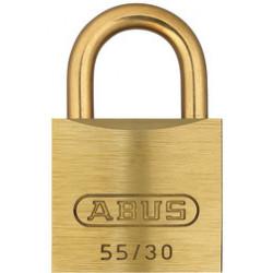 Abus 55MB/30 Economy Brass Shackle Padlock